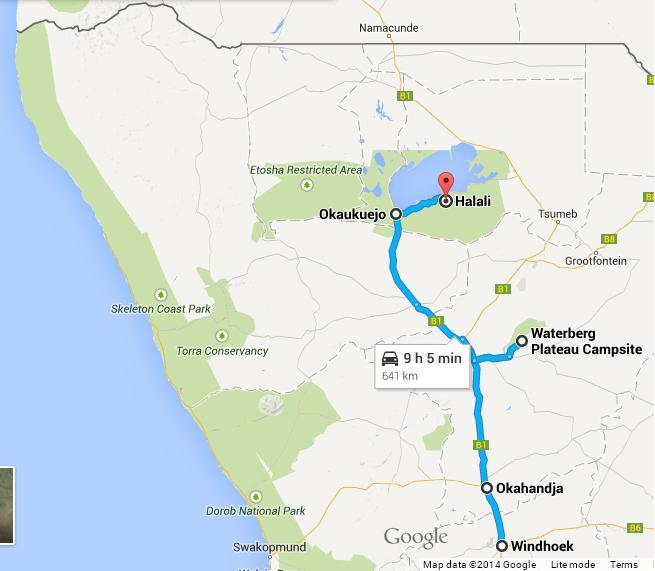 Namibia third leg