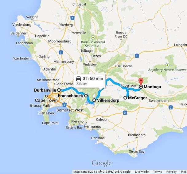 Durbanville McGreggor Montagu