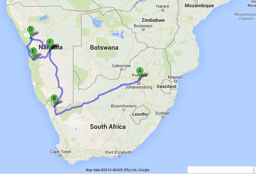 Namiba tour